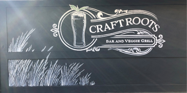 Image of the Craft Roots exterior art mural